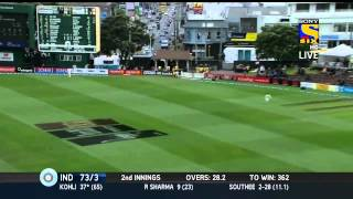 Virat Kohli 6th test century vs New Zealand HD