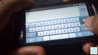 Sony Ericsson Xperia Neo V Detailed Review  Part 4 - Keyboard