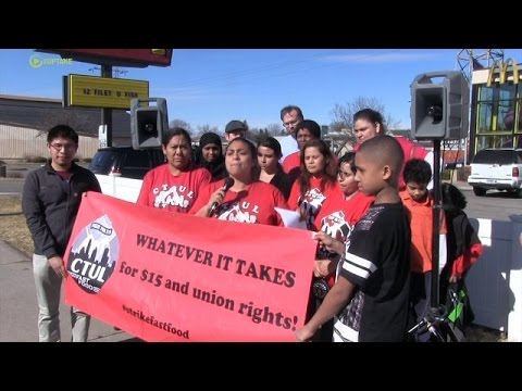 Fast Food Workers Announce Nationwide Strike For April 15