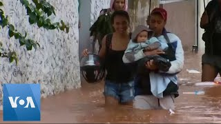 Heavy Rains in Brazil Cause Flooding, Landslides