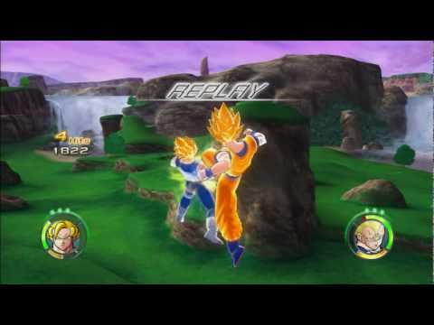 Dragon Ball Raging Blast 2 Goku vs Frieza, Majin Vegeta, Majin Buu