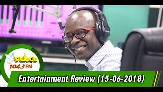 ENTERTAINMENT REVIEW ON PEACE 104.3 FM (15/06/2019)