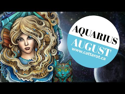 💞 AQUARIUS AUGUST 2017 TAROT***Whoa!!! All puzzles are now in the place***
