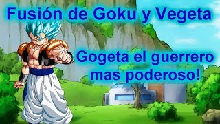 Goku + Vegeta = al poderoso Gogeta! | Roblox: Anime Cross 2