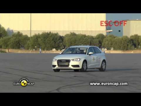 Euro NCAP | Audi A3 | 2012 | Электронный контроль устойчивости