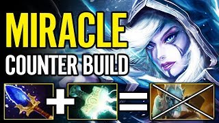 Extreme Counter Build by MIRACLE Drow Ranger vs PL What a Player! Dota 2 Pro Gameplay