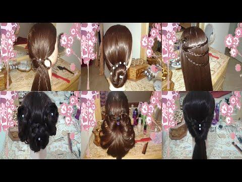 peinados faciles rapidos y bonitos de moda para niña en cabello largo