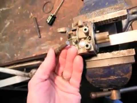 carburetor welch plug removal and replacement Tecumseh Briggs and Stratton