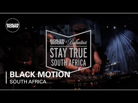 Black Motion Boiler Room & Ballantine's Stay True South Africa DJ Set
