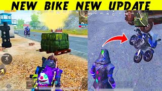 New BIKE New UPDATE New GUNS in PUBG Mobile