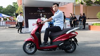 Chi tiết Yamaha Latte: hướng đến nữ giới, cốp rộng 37 lít, SmartKey | Xe.tinhte.vn