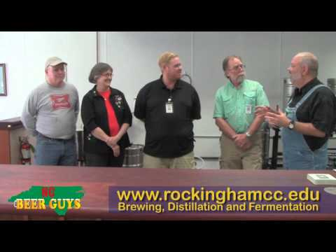 NCBeerBuzz - Rockingham Community College's Brewing, Distillation and Fermentation program, Eden