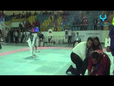 حصريا.. لحظة وفاة لاعب التايكوندو التركي أثناء المبارة