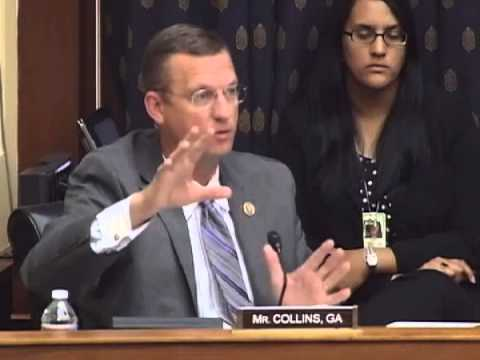 Rep. Collins at Hearing on Reconstruction in Iraq