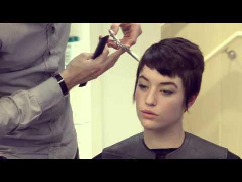 Short Pixie Haircut with Burberry Colour By Paul & Martin @DaveyDavey Hair Salon
