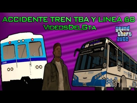 .::GTA BS AS :: ACCIDENTE TREN TBA Y LINEA 68::.
