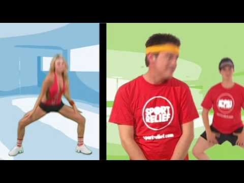 Let's Dance For Sport Relief - Call On Me (eric Prydz) video
