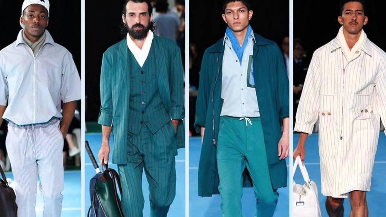 Spring Summer 2015 Trends Menswear Key Trends For Spring Summer