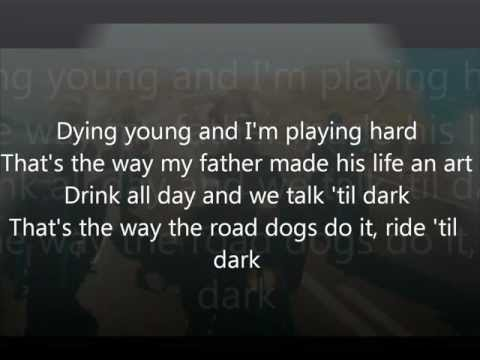 Lana Del Rey Ride Lyrics video