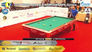 SEO Seoa vs CHEN Chia-Hua  Final  2018 WORLD 9-BALL CHAMPIONSHIPS Girls 2018