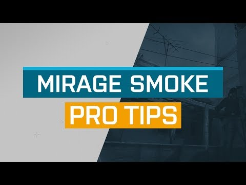 CS:GO - ProTips: Mirage - T-Smoke from B-Apartment to Mid Window