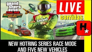 GTA 5 Online Nova DLC SAN ANDREAS SUPER SPORTS SERIES / RACING UPDATE / JOGANDO AS NOVAS CORRIDAS