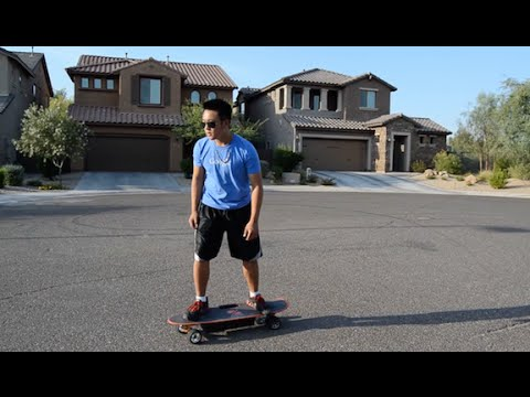 Zboard: Weight Sensing Electric Skateboard Review