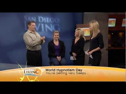 James Kellogg, Jr. talks about hypnotism on San Diego Living.