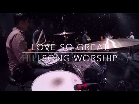 Love So Great by Hillsong Worship - Live Drum Cam 2018 (HD) thumbnail