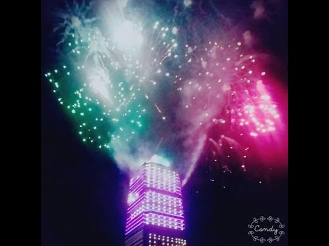 Fireworks Bahria Town Icon Tower Karachi 25th Jan 2016 Full Video