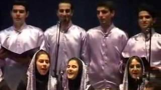 IRAN , Music Azari : Arshin Malalan.University of Tabriz