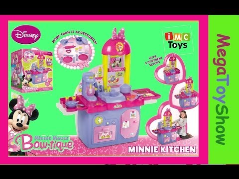 Minnie Mouse kitchen playset IMC toys
