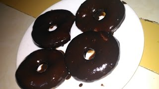 How to make donut in tamil/ chocolate donut/ chocolate and butter cream donut/டோனட் செய்முறை/Donut