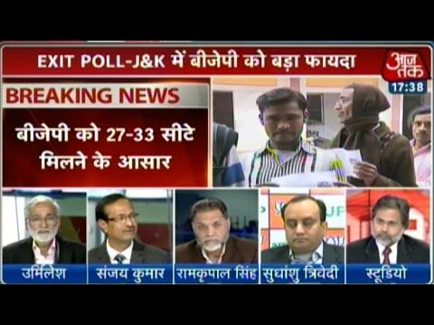 BJP may emerge as second largest party in J&K: Exit polls