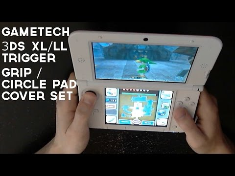 GAMETECH 3DS XL/LL Trigger Grip & Extra Pad 3D (Circle Pad Covers) REVIEW