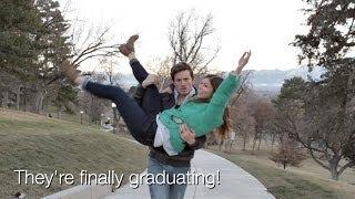 CREATIVE BABY ANNOUNCEMENT!! - Graduation Surprise