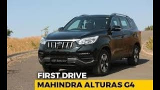 Mahindra Alturas G4 - the new Rexton | First India Drive Review
