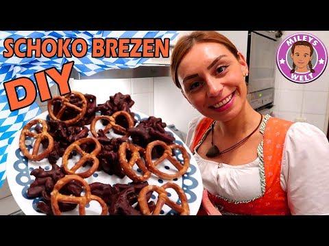 SCHOKOBREZEN DIY - leckerer Snack Food Hack zum selber machen   Mileys Welt