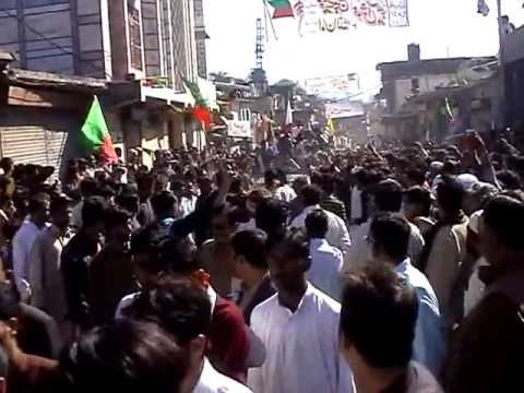Yasin Malik coming in Tatta pani 4 march 2013 part 1