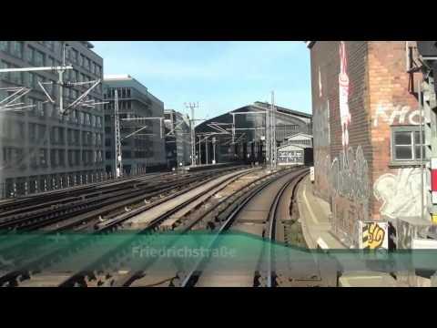 Führerstandsmitfahrt S-Bahn Berlin Stadtbahn Ostbahnhof - Charlottenburg HD