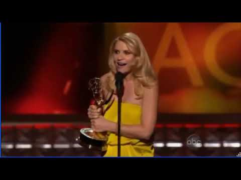 Claire Danes - Best Actress in a TV Series Drama - Emmy Awards 2012