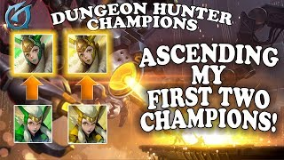 Grubby   Dungeon Hunter Champions   Ascending my First Two Champions!