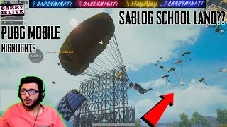 EVERYONE LANDING SAME PLACE? | PUBGM FUNNY MOMENTS | CARRYMINATI HIGHLIGHT