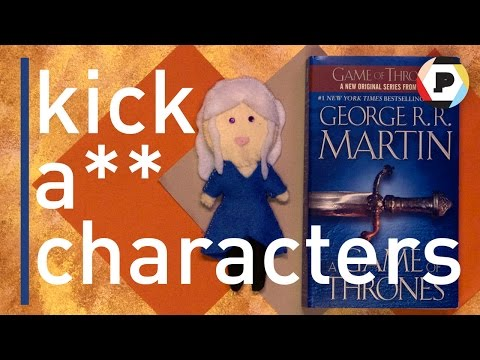 Meet Daenerys Targaryen from George R.R. Martin's A GAME OF THRONES | kick-a** characters