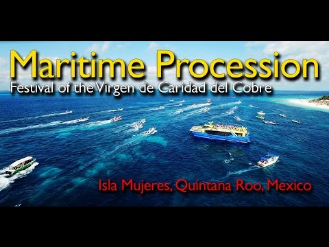 Maritime Procession - Isla Mujeres, Mexico