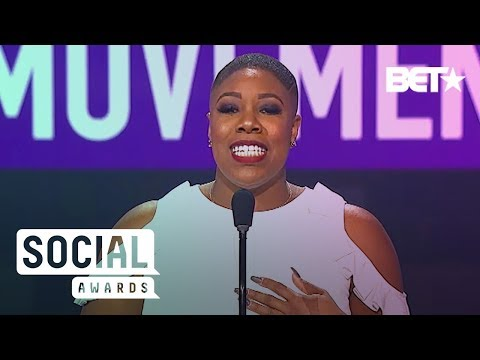 Simone Sanders Helps Salute The Founders Of The Women's March | BET Social Awards