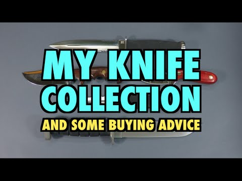 My Knife Collection (and Buying Advice) video