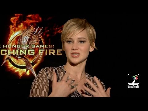 Jennifer Lawrence Hunger Games Interview