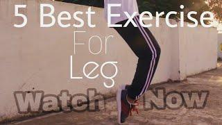 5 Best leg Exercises for dance beginner !!!