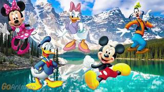 Finger family - Mickey mouse and friends - Nursery Rhymes for kids and toddlers